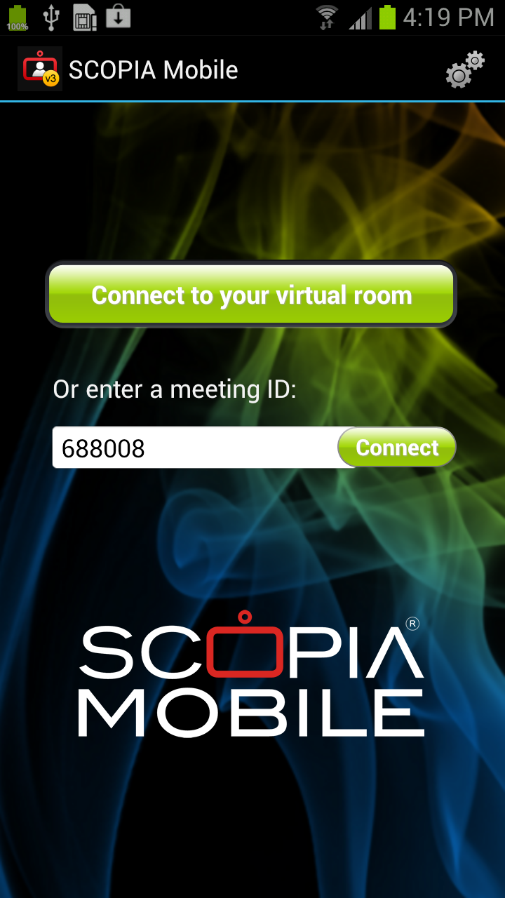 SCOPIA Mobile for Android contribution by glorieux networks